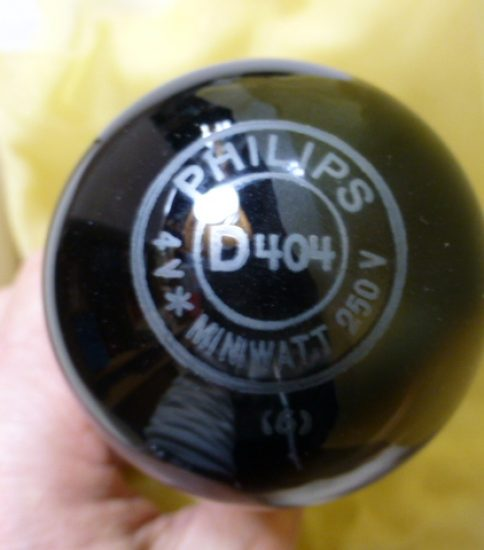 Philips D-404 Tubes ¥Ask!!