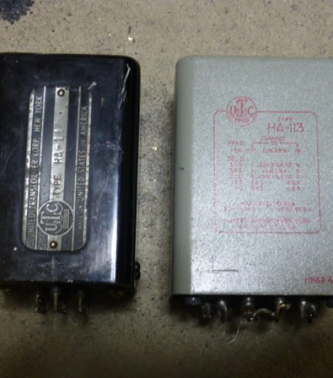 UTC HA-113 Output Transformers ¥86,400/Pair