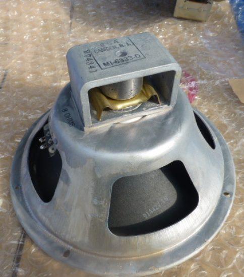 "RCA MI-6333-D 10""Fullrange speaker ¥55,000"