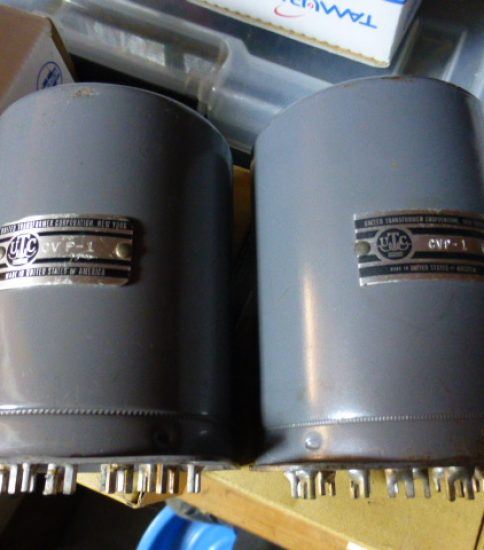 UTC CG-19 Output transformers ¥99,000/Pair