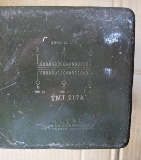 Altec TMJ-217A Output Transformer ¥55,000
