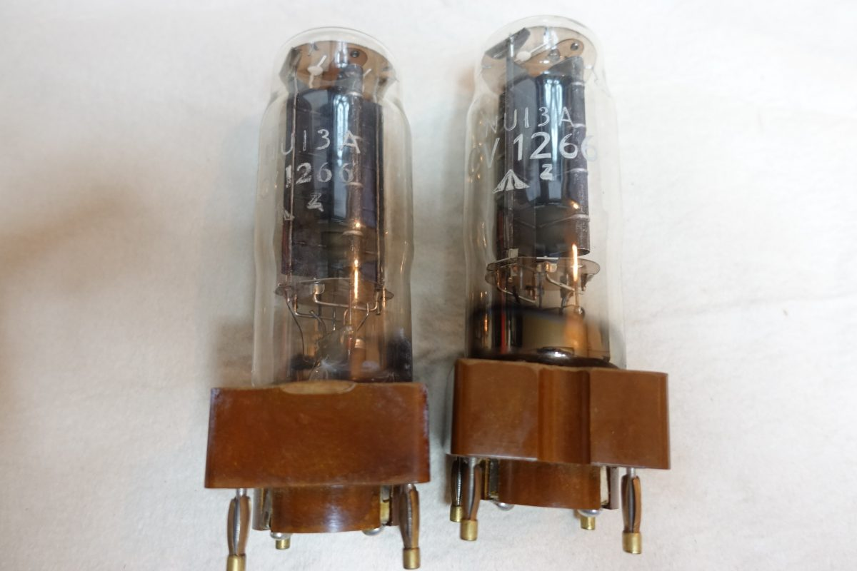 Osram NU-13A/CV1266 harf-wave rectifier tubes ¥22,000/Each
