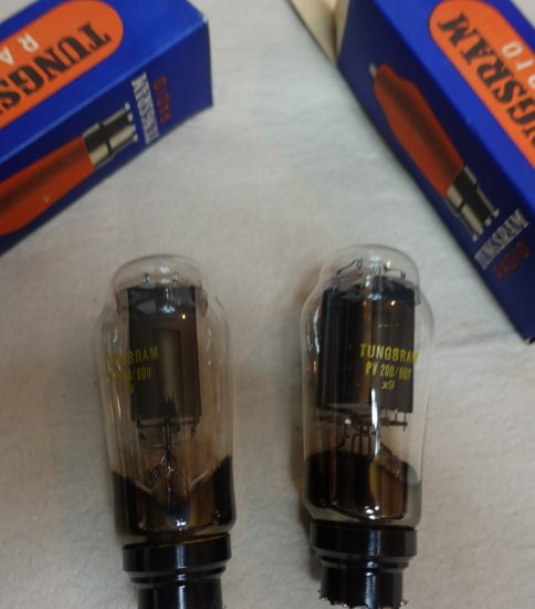 Tungsram PV200/600 Tubes ¥16,500/Each