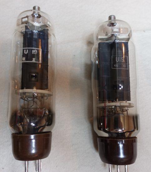 Osram U-19 Rectifier tubes ¥11,000/Each