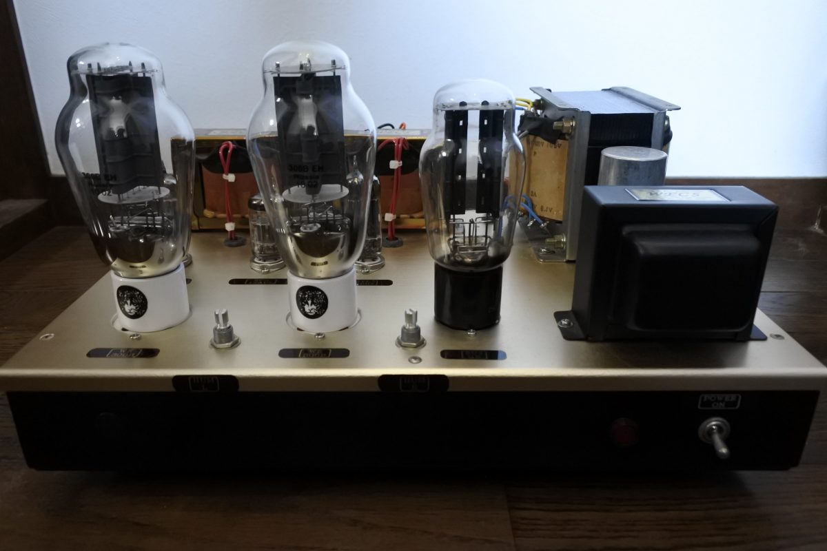Custom made 300B single stereo Amplifier ② ¥Sold out!!