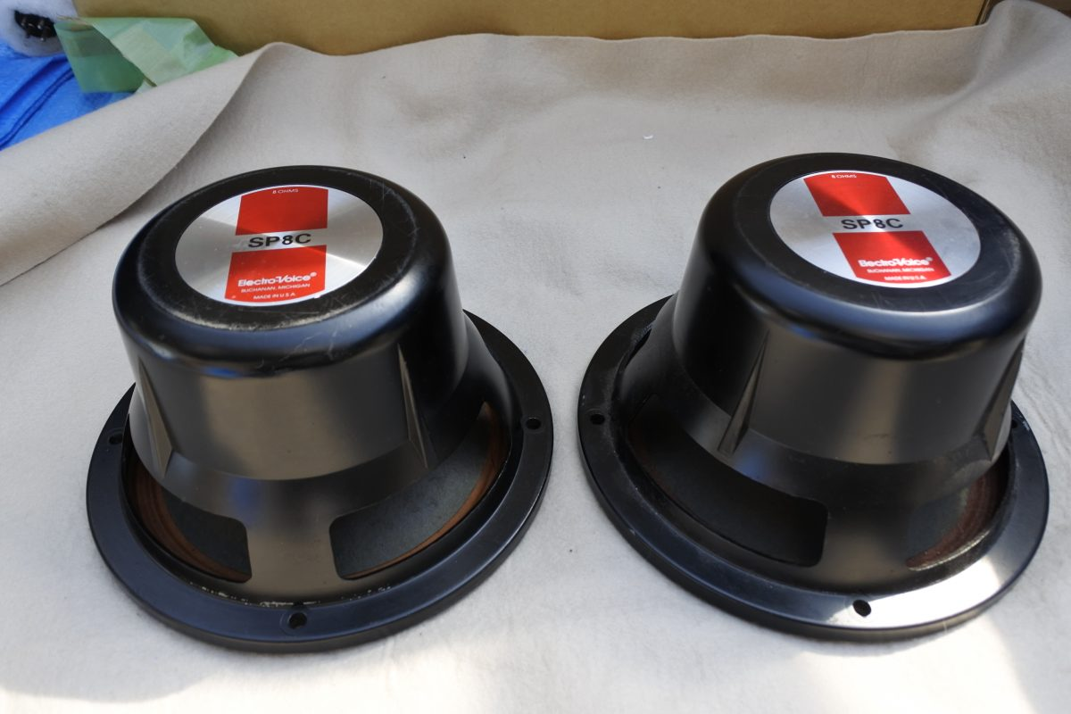 Electro Voice EV SP-8C 20cm Speakers ¥66,000/Pair