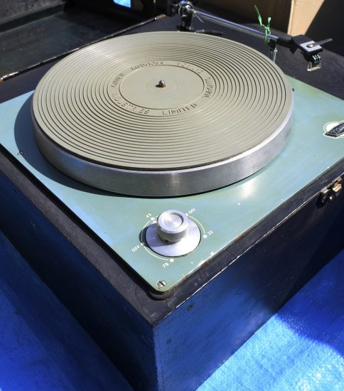 McCurday Radio LP record player ¥Sold out!!