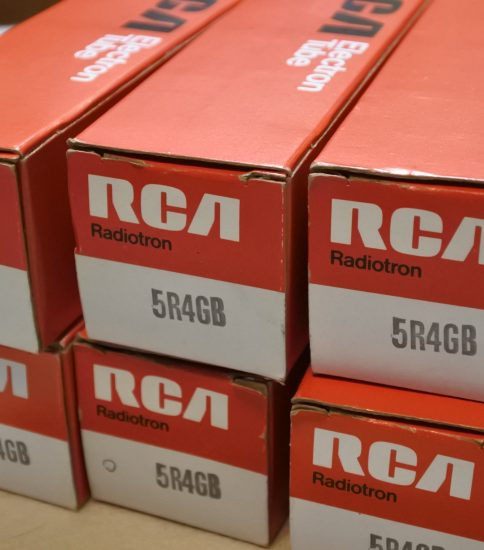 RCA 5R4GB Tubes NIB ¥5,500/Each