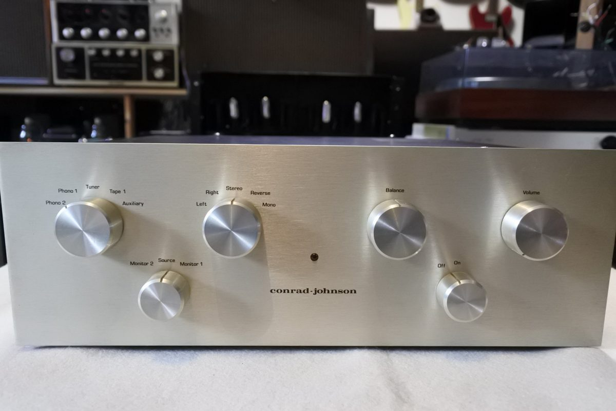 Conrad Johnson PV-1 Stereo Tube Preamplifier  ¥Sold out!!