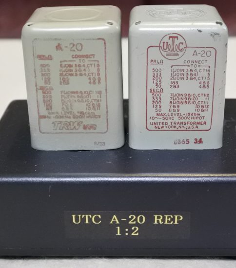 UTC A-20 Repeating transformers ¥Sold out!!