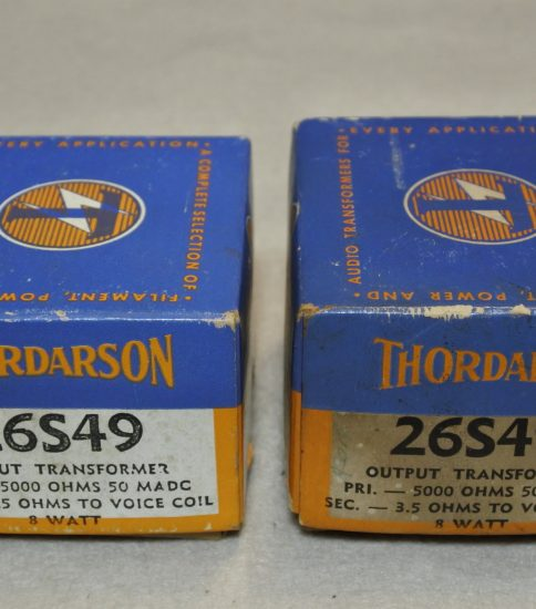 Thordarson 26S49 SE Output Transformers ¥43,200/Pair