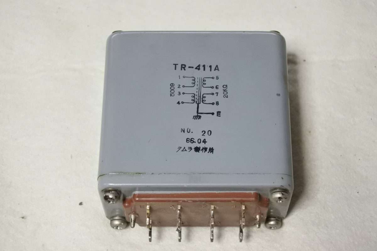 Tamradio TR-411A Input transformer ¥Sold out!!