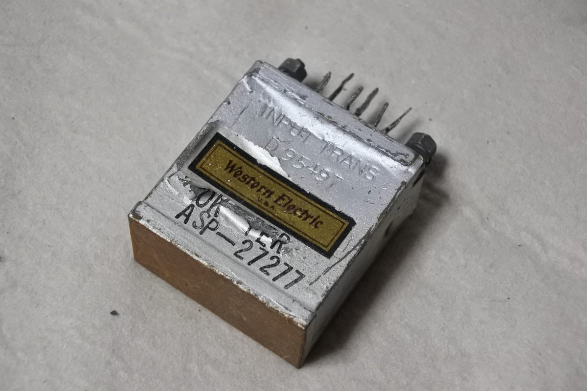 Western Electric D-95497 Input transformer ¥43,200
