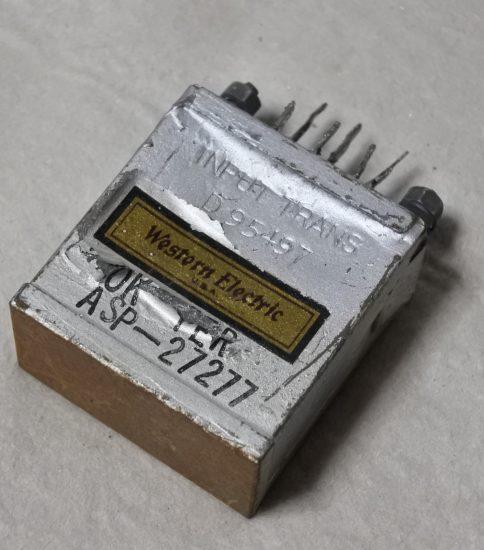Western Electric D-95497 Input transformer ¥44,000