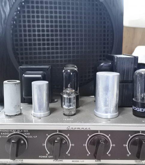 Grommes LJ-3 Mono-Amplifier+B&H 12″ Speaker ¥86,400