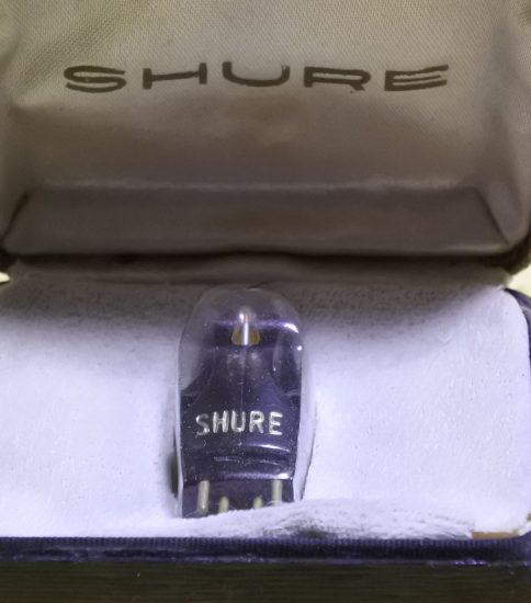 Shure M3D Stereo Cartridge NIB¥55,000