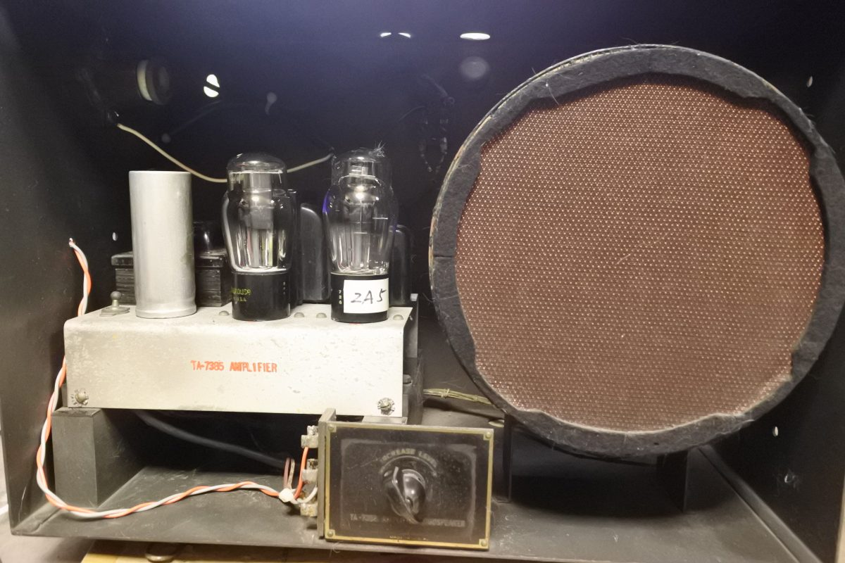 Western Electric TA-4189 FC Speaker & TA-7385 Amplifier in the TA-7388 cabinet ¥Ask!!