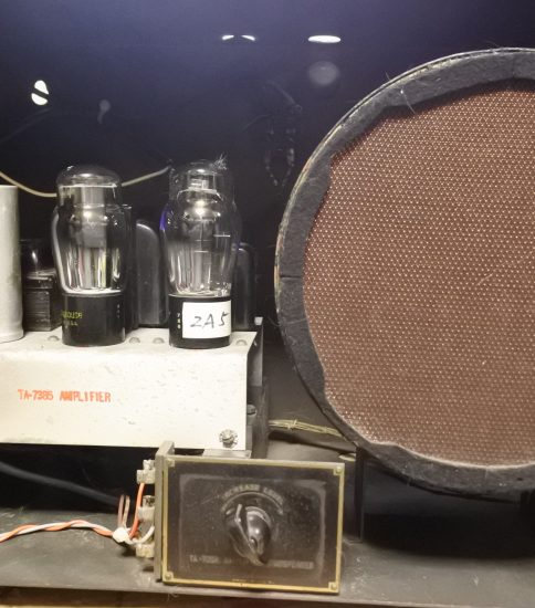Western Electric TA-4189 FC Speaker & TA-7385 Amplifier in the TA-7388 cabinet ¥Ask!!