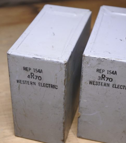 Western Electric 154A REP ¥129,600/Pair