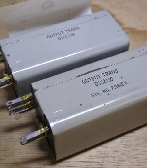 Western electric D-162199 OPT ¥66,000/Pair