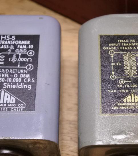 Triad  HS-5  IPT ¥165,000/Pair