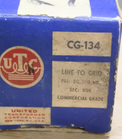 UTC  CG-134 Input Transformer ¥27,500