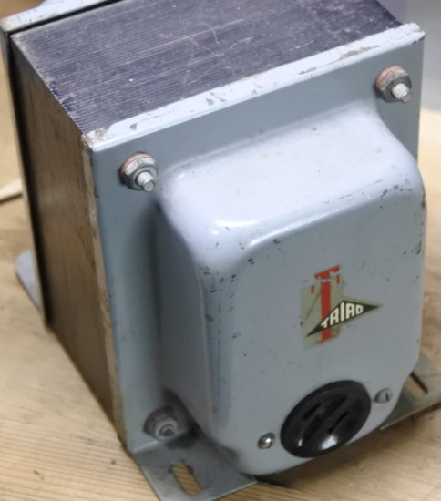 Triad  N-55M Isolation transformer ¥44,000