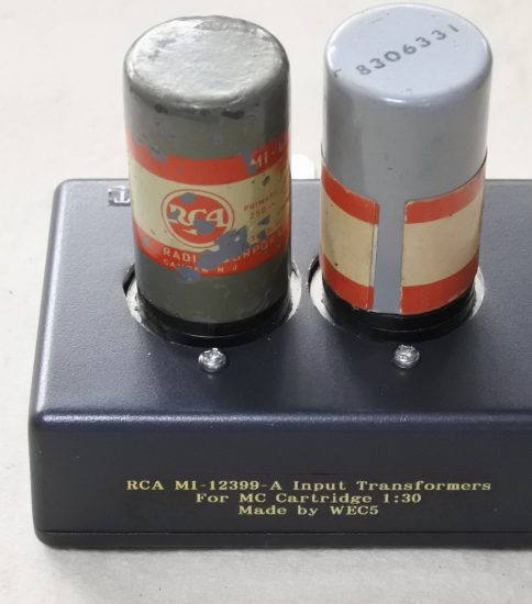 RCA MI-12399-A Input Transformers ¥110,000