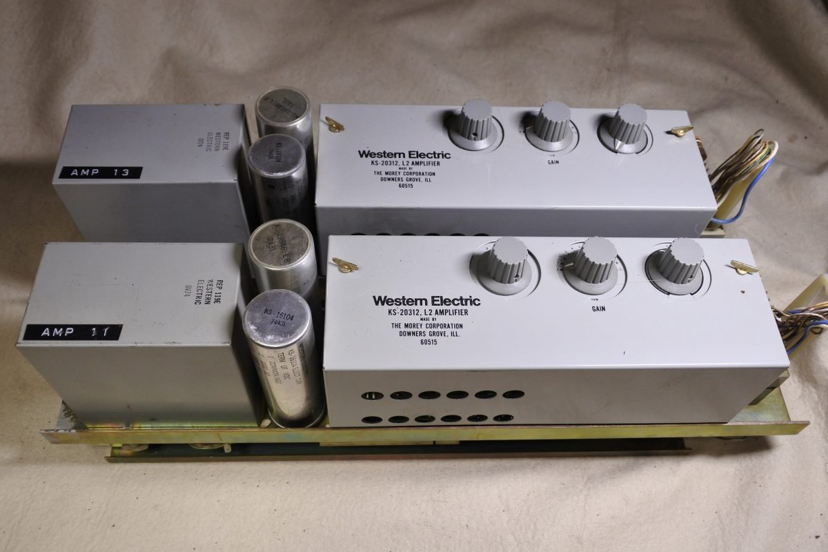 Western Electric KS-20312-L2 Amplifiers ¥270,000/Pair
