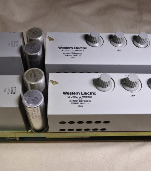 Western Electric KS-20312-L2 Amplifiers ¥275,000/Pair