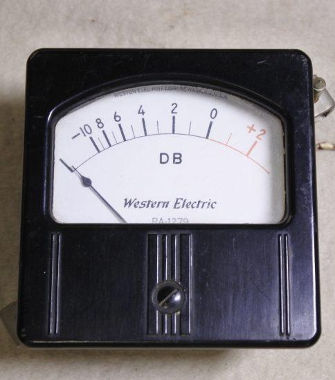 Western Electric RA-1279 VU Mater ¥55,000