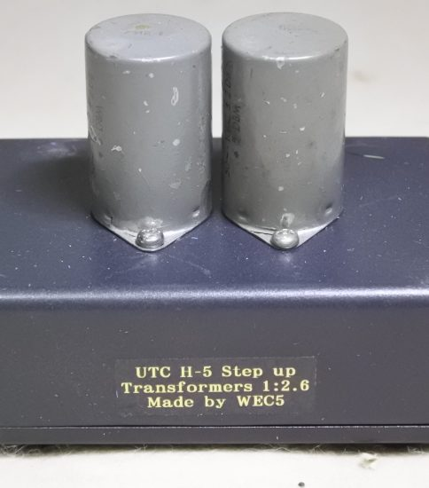 UTC H-5 Input Transformers 1:2.6 ¥Sold out!!