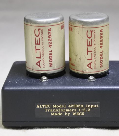 Altec Peerless 42292A Input Transformers ¥Sold out!!