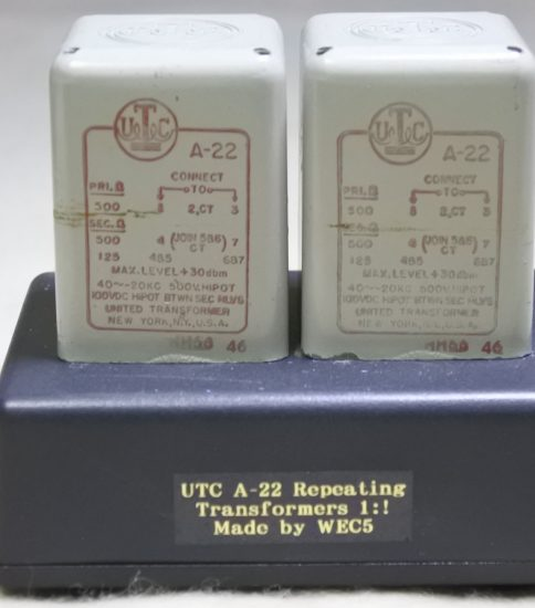 UTC A-22 Input Transformers ¥Sold out!!