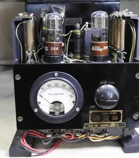 Western electric  49 Amplifier with Power supply  ¥Sold out!!