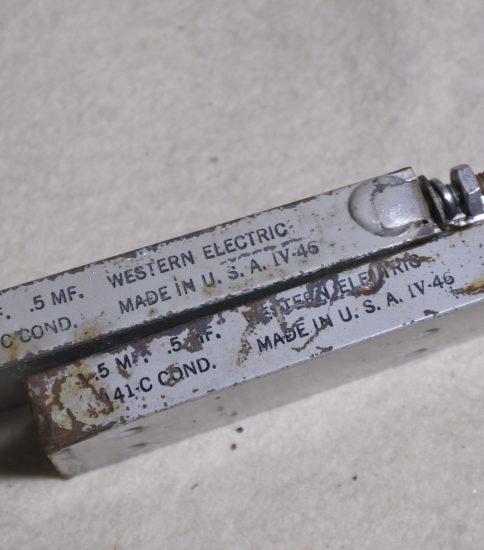 Western electric 141C Caps  ¥33,000/Pair