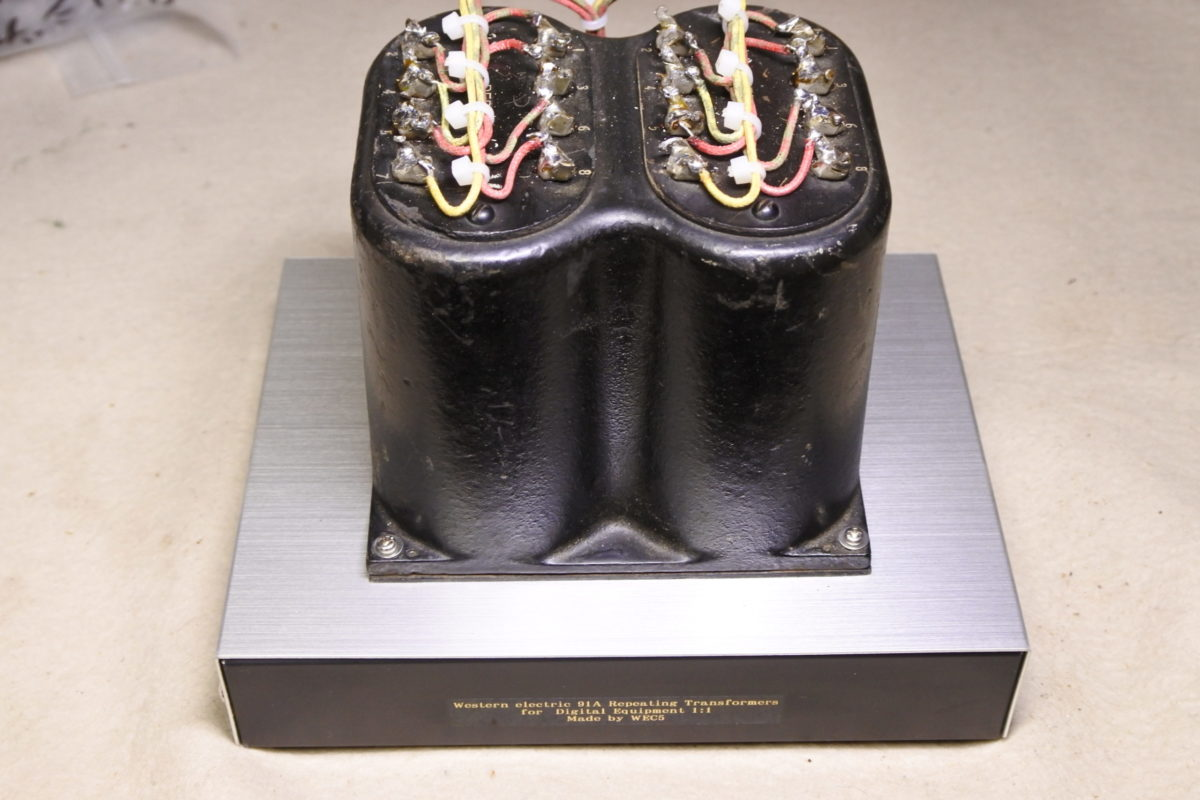 Western electric 91A  Repeating coil ¥330,000