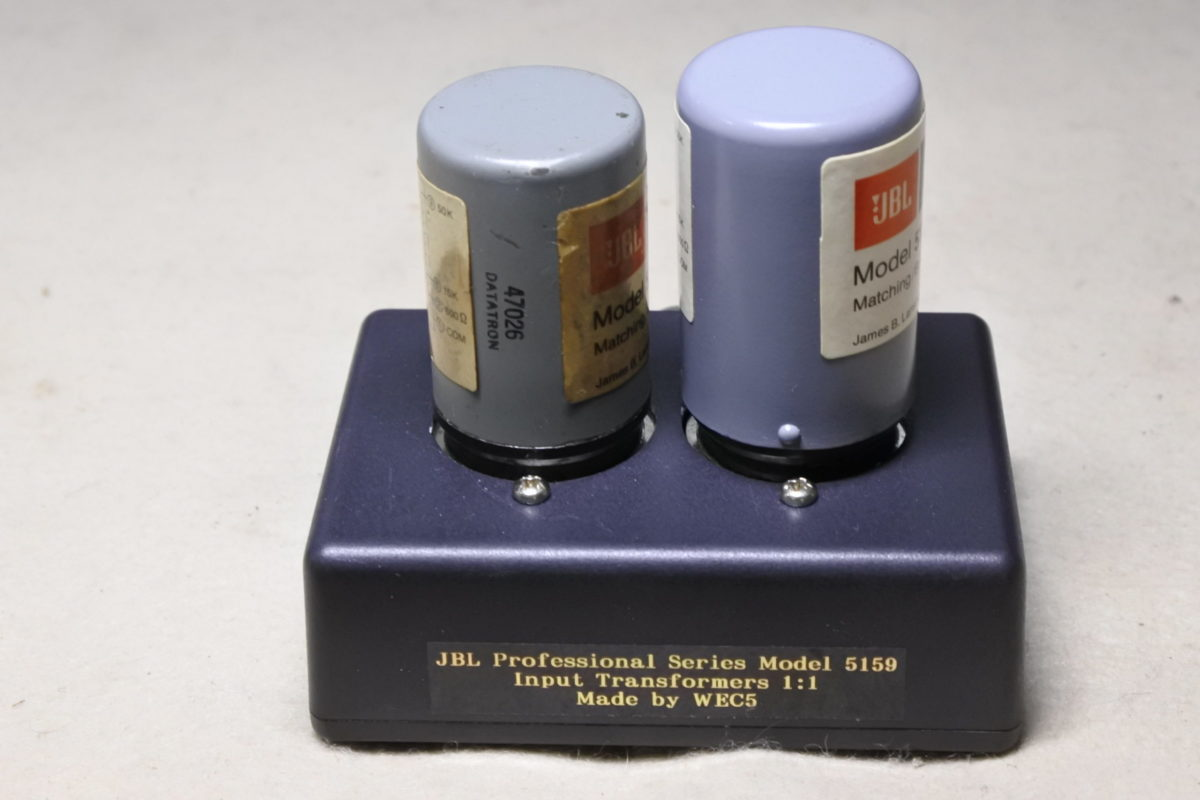JBL  5195  Input Transformers ¥55,000