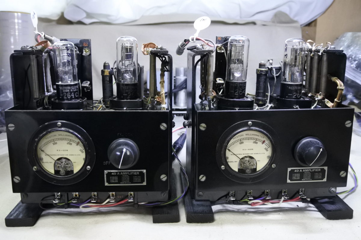 Western electric 49 Amplifiers  ¥Sold out!!