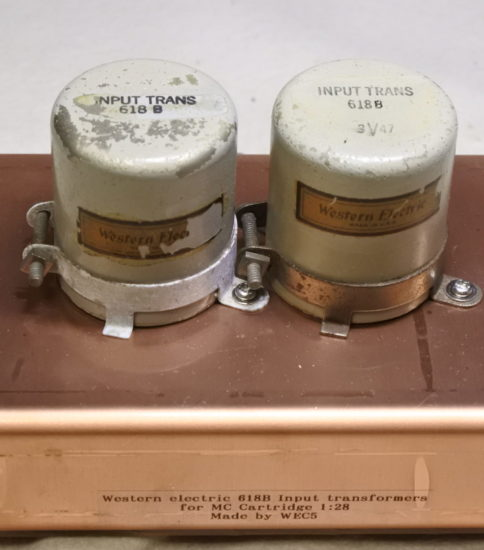 Western electric 618B  Input transformers ¥Ask!!