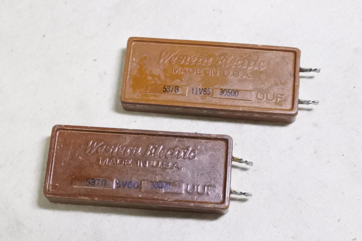 Western electric 537B  Mica caps ¥8,800/Each