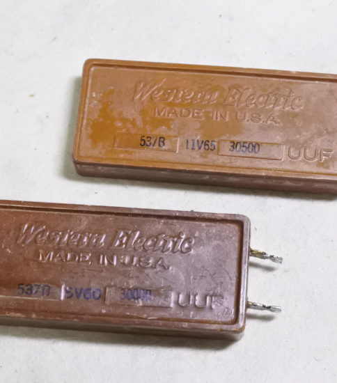 Western electric 537B  Mica caps ¥8,800/Each