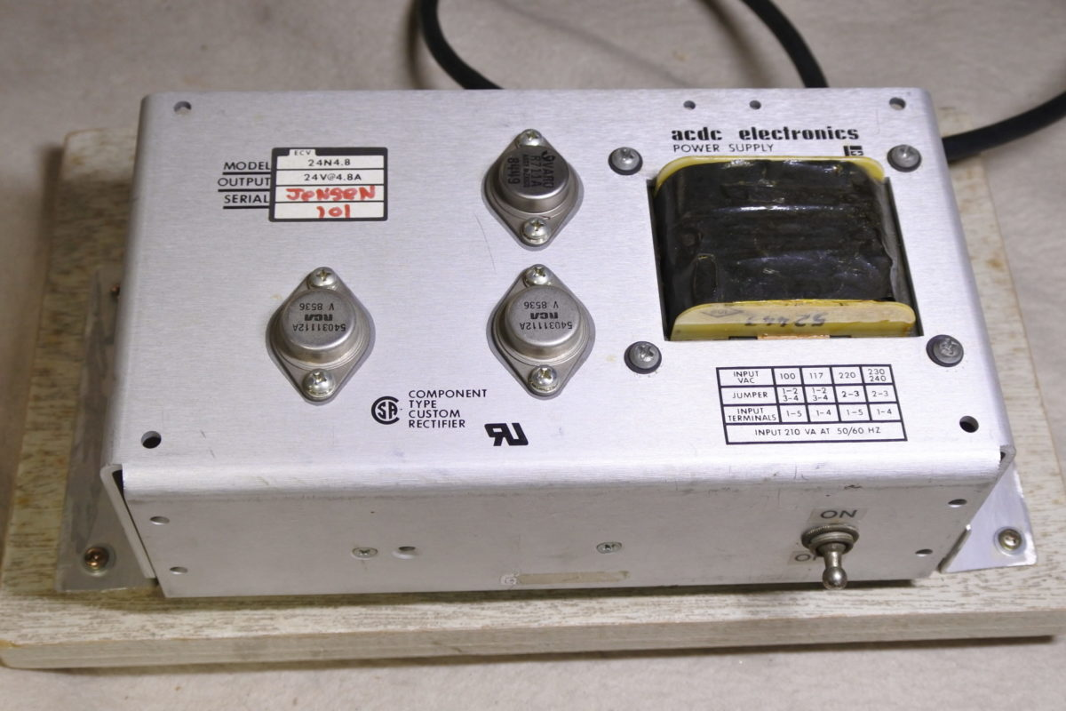 acdc electronics Power supply 24V/4.8A ¥Sold out!!