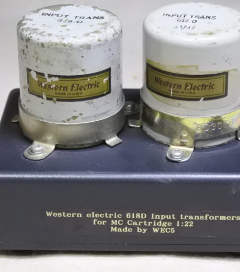 Western electric  618D  Input transformers ¥660,000