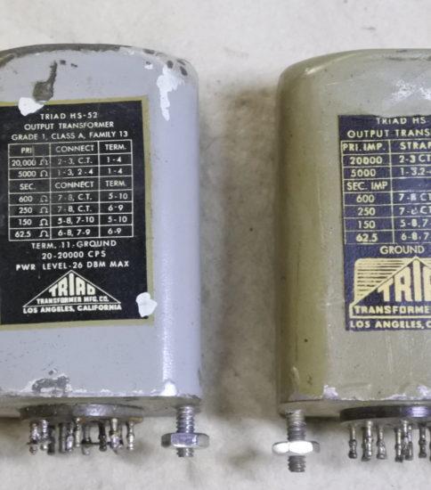 Triad HS-52 OPT ¥165,000/Pair