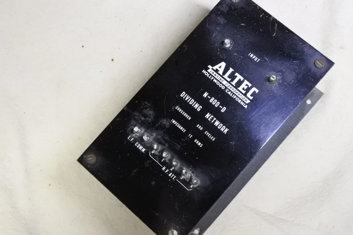 Altec  N-800D  Crossover ¥110,000