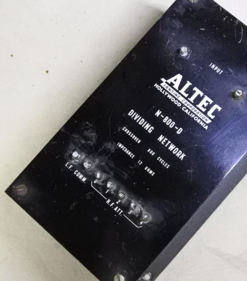 Altec  N-800D  Crossover ¥Sold out!!