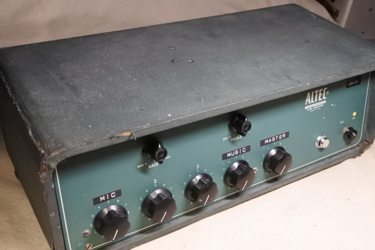 Altec 342B Powerd Mixer ¥Sold out!!