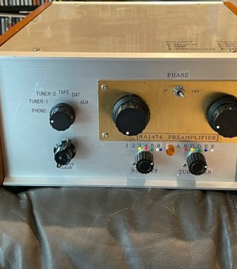 RA-1474 Type Stereo Preamplifier  ¥330,000