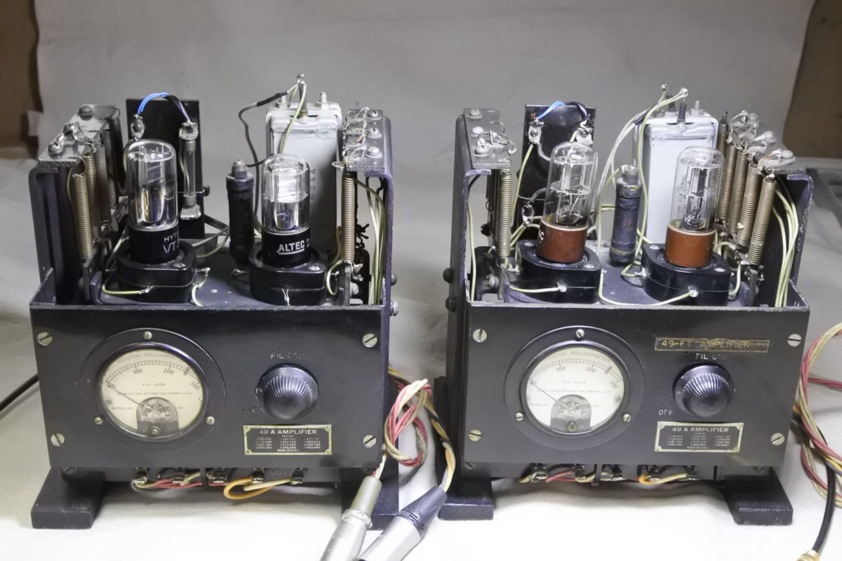 Western electric 49A Amplifiers  ¥Ask!!